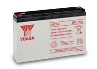 NP7-6 Yuasa 6v 7Ah Lead Acid Battery Battery | From £8.64 Ex VAT Buy online from The Battery Shop